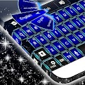 Blue Novelty GO Keyboard theme icon