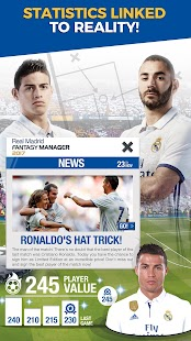 Real Madrid Fantasy Manager'17- Real football live- screenshot thumbnail