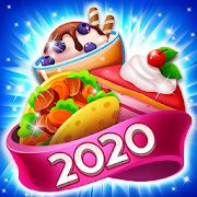 Food POP: Gravity world Puzzle game(Food burst 2)