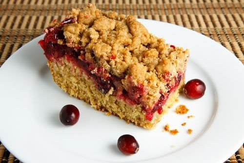 """Cranberry Crumb Coffeecake""""The coffeecake came together easily an turned out really well...."""