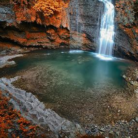 Ferrera falls by Enrico Mosca - Landscapes Waterscapes ( falls, fall, waterscape, river, water, italy,  )