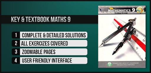 Key & Textbook Maths 9 (PTB) - Apps on Google Play