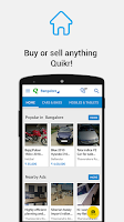 Screenshot of Quikr Free Local Classifieds