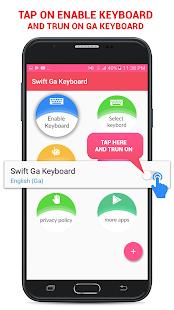 Swift Ga Keyboard - náhled
