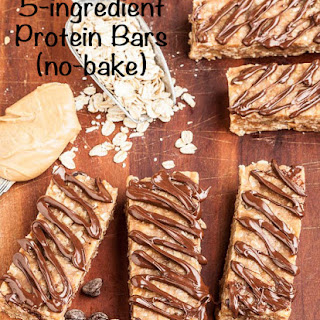 5-Ingredient Protein Bars (no-bake!).