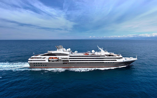 le-boreal.jpg - The 264-passenger Le Boreal from Ponant offers comfortable sailings to Antarctica and the Arctic regions.
