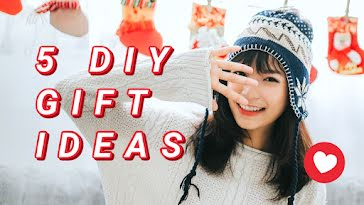 Five DIY Gift Ideas - Christmas Template