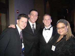Photo: My memory fails on the first gent on the left. #2 is Darren Manzella, and PHB's Daimeon Pilcher.