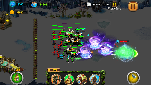 StickMan Defense War - Empire Hero & Tower Defense android2mod screenshots 20