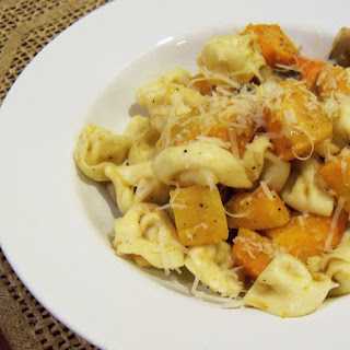 Butternut Squash With Tortellini