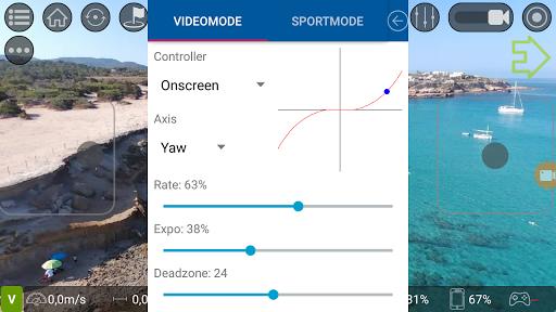 Screenshot for Tello FPV - Control the Ryze Tello drone FPV + RTH in United States Play Store