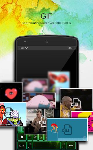Flash Keyboard - Emojis & More screenshot 5