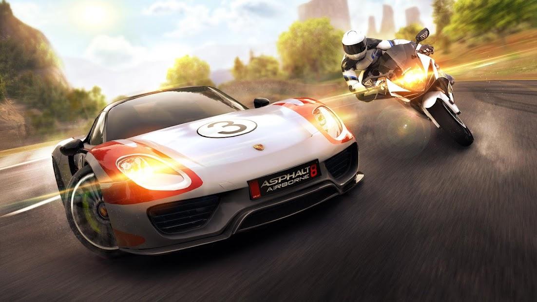 Asphalt 8: Airborne - Fun Real Car Racing Game Android App Screenshot