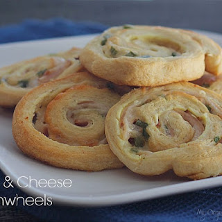 Ham Cream Cheese Green Onion Pinwheel Recipes.