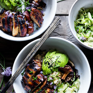 Japanese Farm-Style Grilled Teriyaki Chicken Bowl.