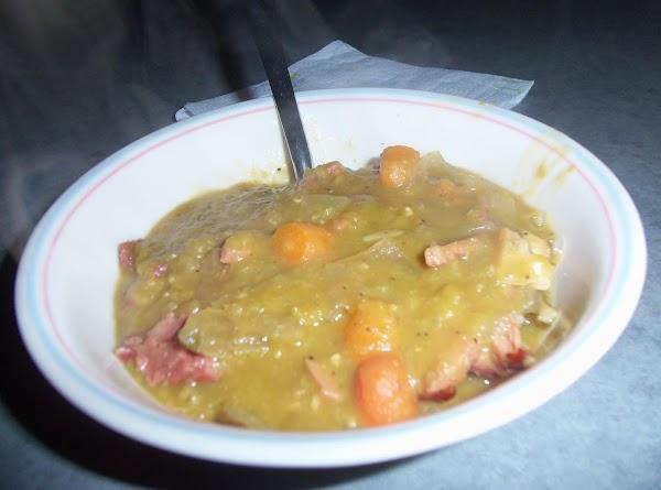 Crockpot Split Pea Soup Recipe