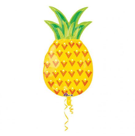 Folieballong - Ananas