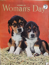 Photo: The cover of Nov. 1951 Woman's Day. It cost 7 cents an issue.