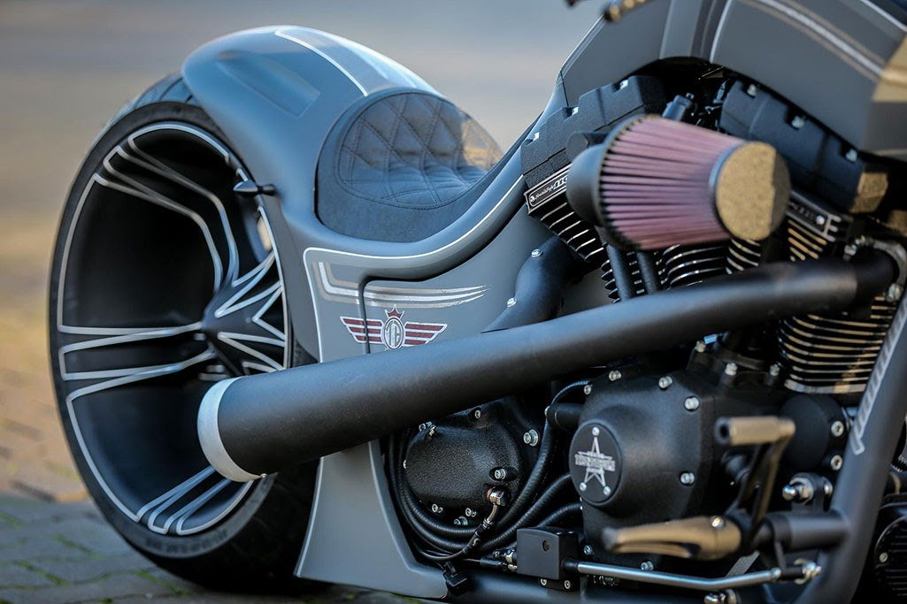 "Harley-Davidson Dragstyle ""RS-R"" by Thunderbike"