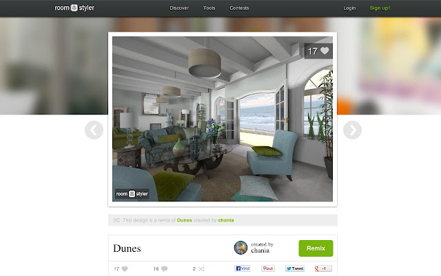 Design your rooms in realistic 3D for free with Roomstyler. Roomstyler 3D planner   Chrome Web Store