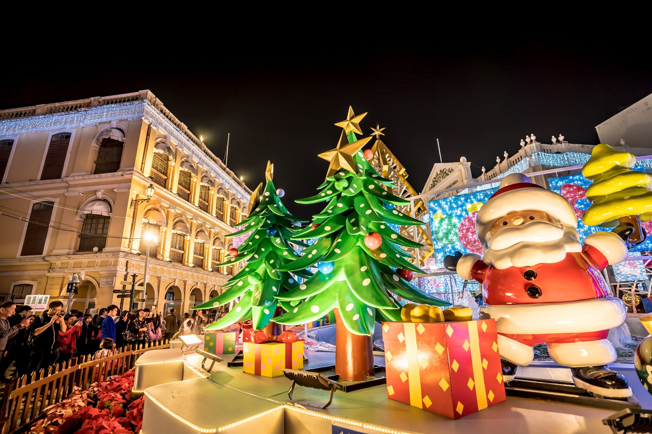 Macau Senado Square light-up3