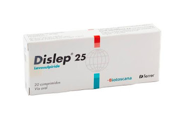 //Dislep 25Mg   Comprimidos Caja x20Com. Biotoscana Levosulpiride