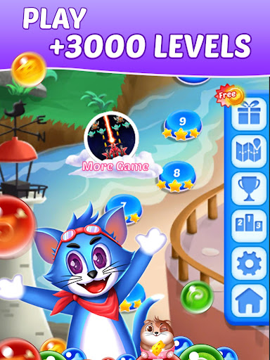 Tomcat Pop: New Bubble Shooter screenshots 9