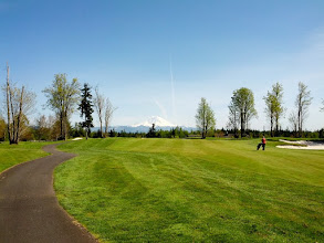 Photo: Druid's Glen on a sunny day -- you can see Mount Rainier! 2nd Hole.