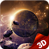 3D Galaxy Space Live Wallpaper