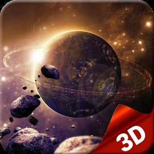 3D Galaxy Space Live Wallpaper