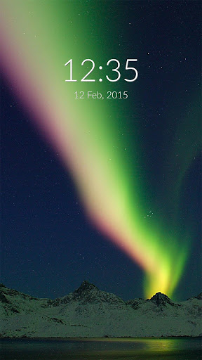 Greenland Lights Wall Lock