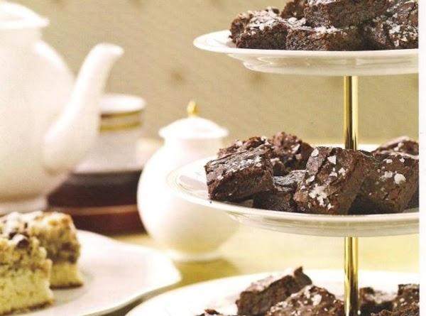 Salted Fudge Brownies Recipe