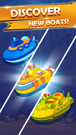Merge Boats – Idle Boat Tycoon - screenshot