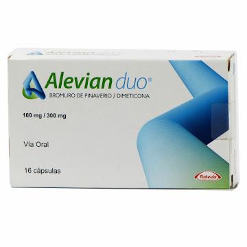 Alevian Duo 100/300Mg   Caja X16Cap. Takeda Bromuro Pinaverio Dimeticona