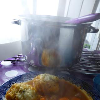 Lamb, Lentil, Cumin and Lemon Stew with Herby Dumplings