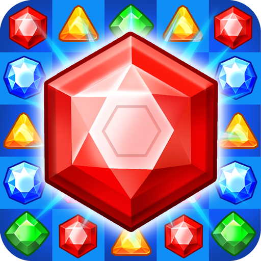 Jewel Game with Levels and Diamond Crush game (apk) free download for Android/PC/Windows