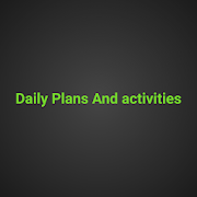 Daily plans and activities APK