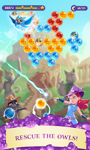 Bubble Witch 3 Saga Mod Apk 6.8.4 (Unlimited Lives) 1