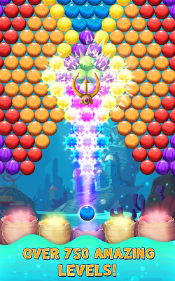 Bubble Shooter Underwater - screenshot