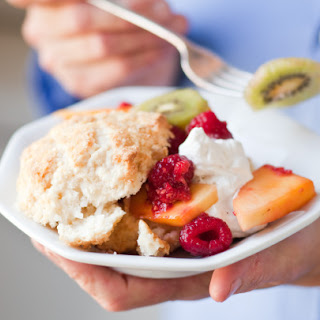 Coconut Shortcakes with Fresh Summer Fruit