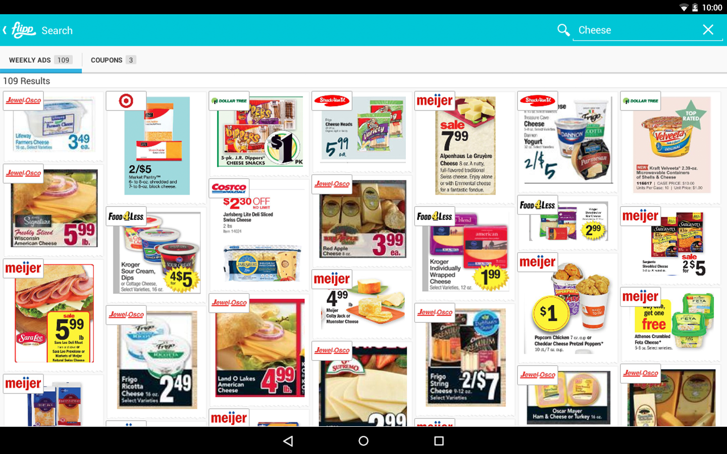 flipp weekly ads coupons android apps on google play flipp weekly ads coupons screenshot