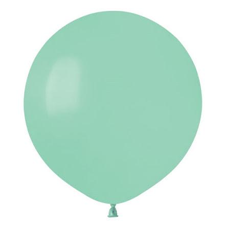 Ballonger helrunda 48 cm, mintgröna