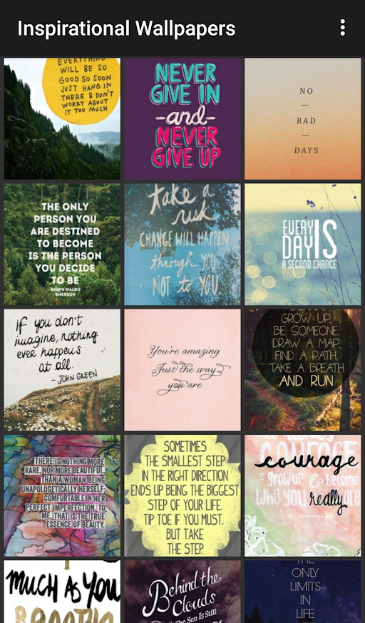 Inspirational Wallpaper APK 1.0 screenshots 3
