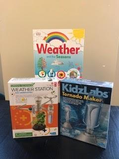 Weather Station Kit, Tornado Maker, Weather Activity Book