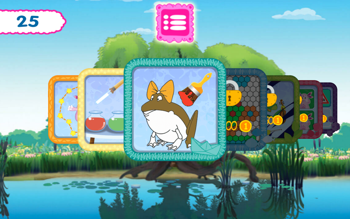 Moonzy. Kids Mini-Games- screenshot