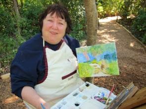 Photo: Donna walsh at Gumbo Limbo 1-23-14