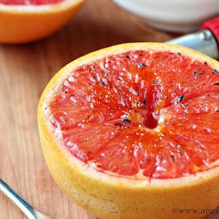 Grapefruit Brulee.