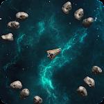 Space Asteroids Escape Icon