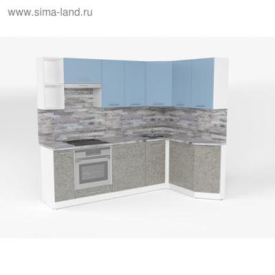 Кухонный гарнитур Наталья прайм 5 2300*1500 мм