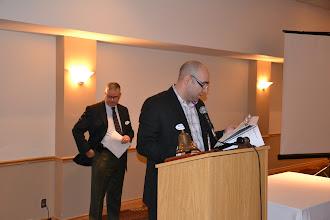 Photo: Secretary George Maamari welcoming guests
